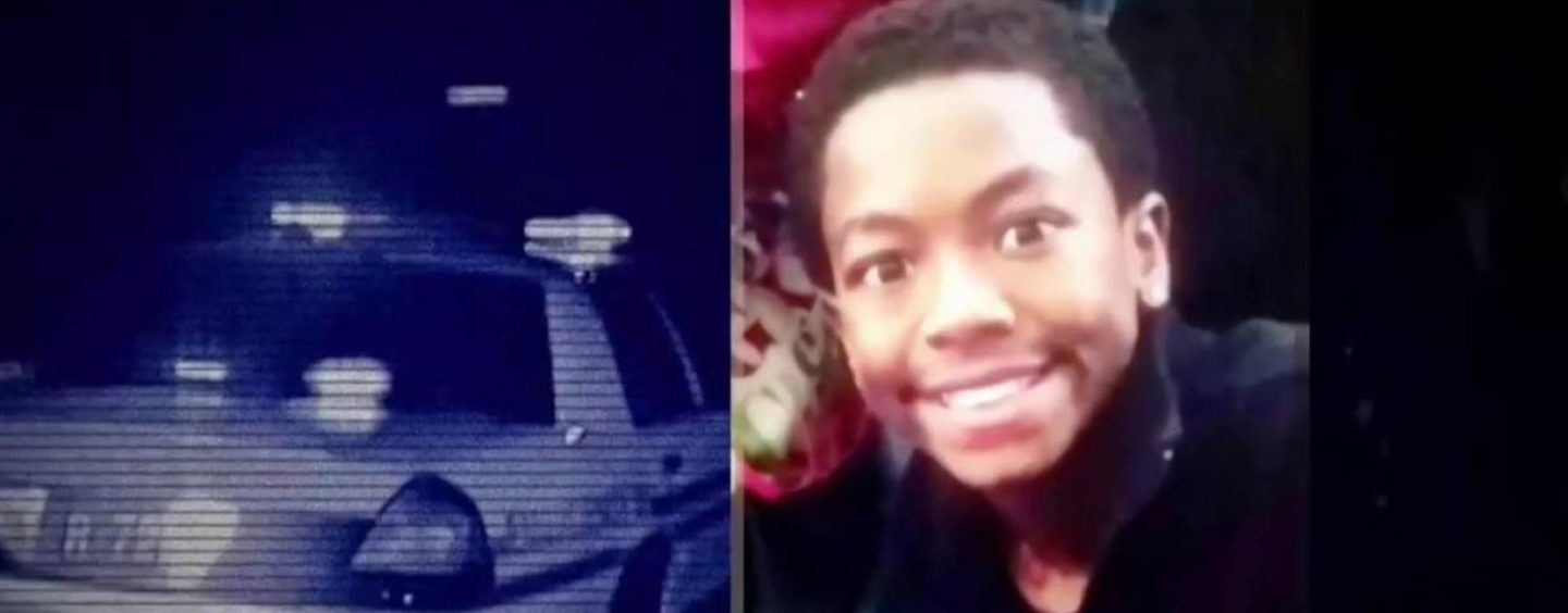 13 Year Old Tyre King Murdered By Racist White Cop Who Was Hunting Niggly Cubs! (Video)