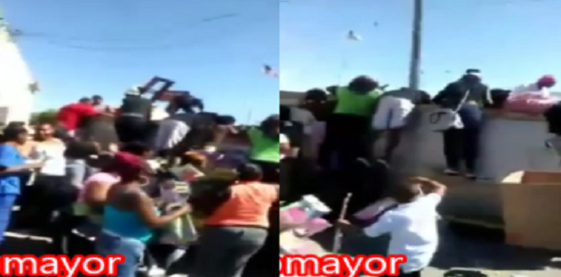 Black Chicks Caught Diving In Dumbsters To Retrieve Discarded Weaves IN Milwaukee!