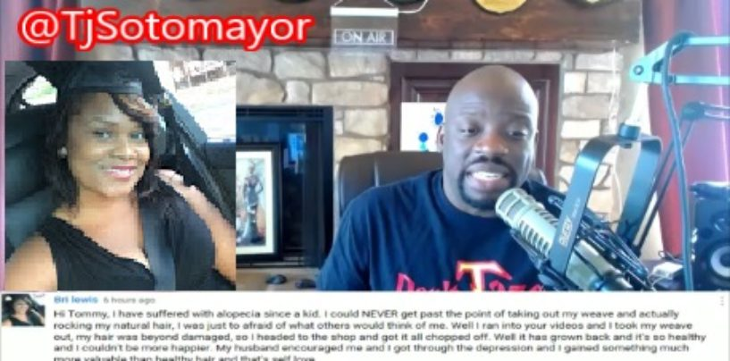 Black Youtuber Says Because Of Tommy Sotomayor She Gained A Complex About Her Hair & Spoke Out! (Video)