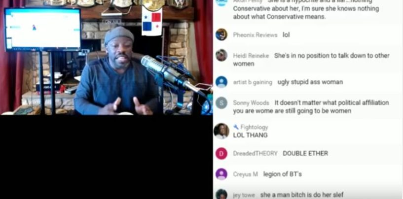 Tommy Sotomayor Cries Over Pregnant Black Chick Who Didnt Want Him! Live