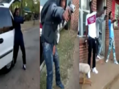 Ignant Niggaz Arrested For Drugs & Gun Possession After Drive By Mannequin Challenge Goes Viral! (Video) #IShitUNot