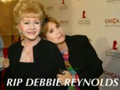 Debbie Reynolds, Mother Of Carrie Fisher, Dead 1 Day After Her Daughter Dies! (Video)