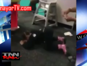 Black Chick Teaches Her 3 Year Old How To Twerk & Get Money Thrown On Her Like A Stripper! (Video)