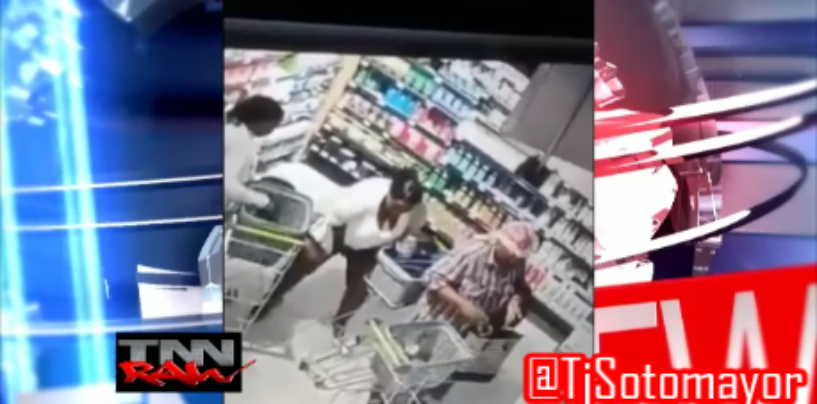 Grandmomma, Momma, & Daughter Niggly Bears Caught On Video Stealing Sticking Items In Their Panties! (Video)