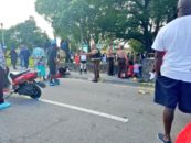 Niggaz Ruin MLK Day In MIAMI 8 People Sh0t! Celebrating Non-Violence With Violence! #iShitUNot (Video)