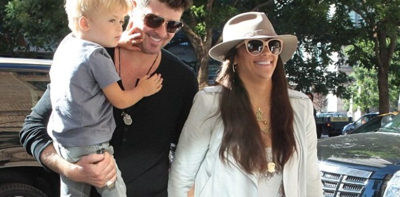 HalfBreed Paula Patton Actin A Nigga To Robin Thicke Having His Son Taken Away For Spanking! (Video)