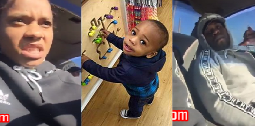 Left Toddler In Car Being Killed While She Ran Away Filming Whole Event On Facebook Live! (Video)