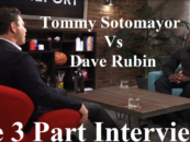 Dave Rubin Interviews Tommy Sotomayor On Race, Religion, Politics & More! 3 Part Interview! (Video)