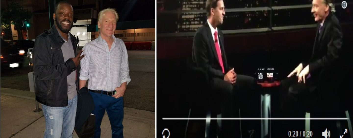 KhazarJew Bill Maher Getting Major Backlash For Calling Himself A HouseNigga! Tommy Sotomayor Goes In! (Video)