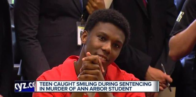 Niggly Bear Smiles & Laughs At Family Of The White Teen He Killed Over His Shoes & Cash! (Video)