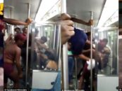 Dallas Father Brutally Beaten By Black Teens After Asking Them To Stop Smoking Marijuana On Train! (Video)