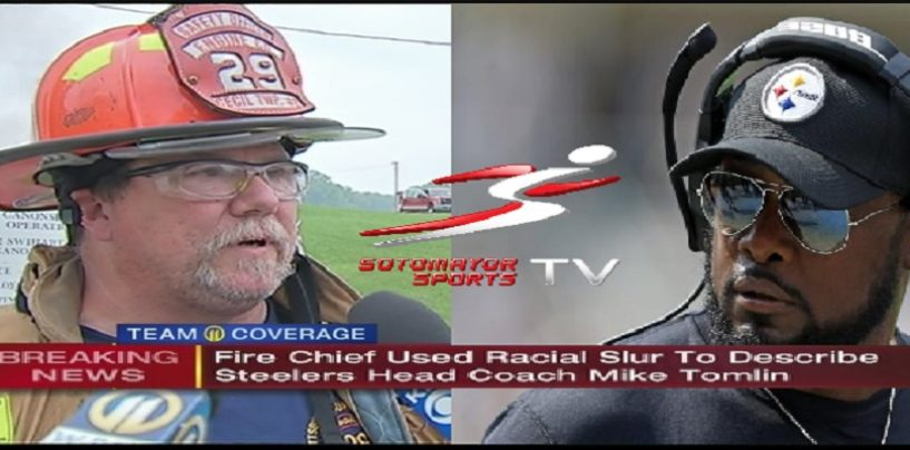 Pittsburgh Fire Chief FIRED For Calling Steelers Coach A No Good N*gger For Not Standing For Anthem! (Video)