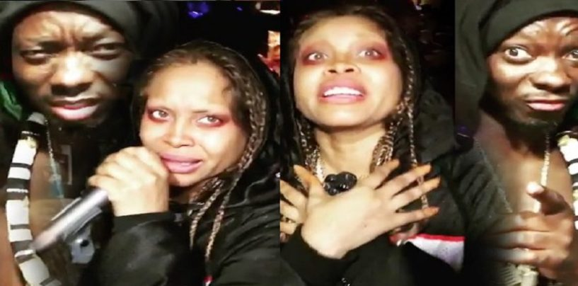 R&B Legend Eryka Badu Joins Other Black HoodWhores In Singing The #ForThatDick Challenge! BlackQueens (Video)