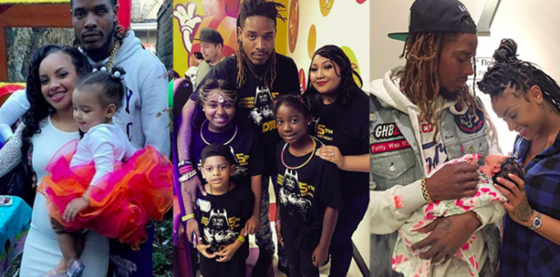 Rapper Fetty Wap Has 5 Baby Mommas Over The Past 2 Years & Pays 100k A Month For 6 Kids Total! (Video)