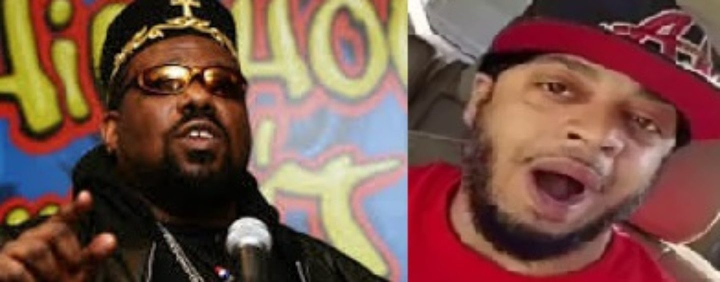 """Afrika Bambaataa's Ex Lover Hassan """"Poppy Poopy Pants"""" Campbell Checks Tommy On His Kenneka Videos! (Video)"""