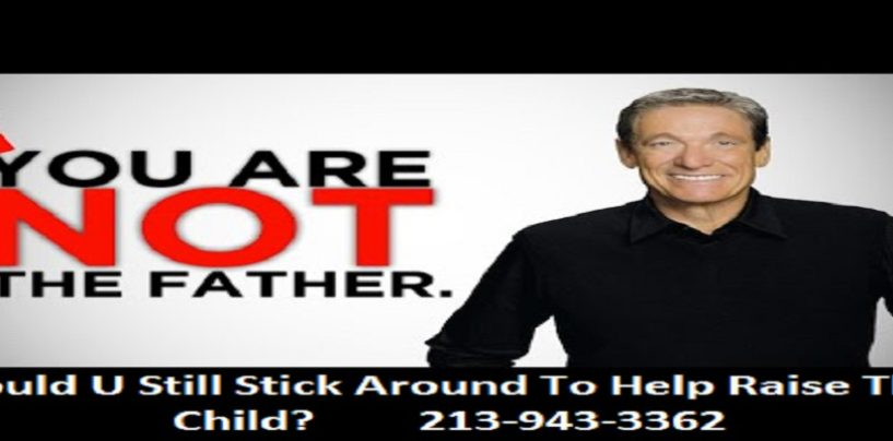 10/24/17 – Should A Man Stay In A Child's Life After He Finds Out The Kid Is Not His? 213-943-3362 (Video)