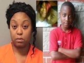 Mom Says She Whipped & Choked Her Son, 10, For Talking Back Leading Him To Stab Himself To Death! #iShitUNot