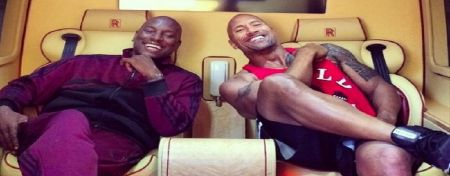 Dewayne The Rock Johnson Clowns Tyrese Over His Album! Did This Cause Tyrese To Lose It? (Video)