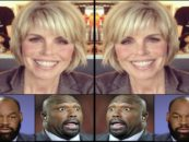 NFL Network & ESPN Suspend Marshall Faulk & Others For Sexually Harassing A Dried Up White Prune! (Video)