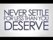 Tomasism #13 You Cant Expect More When You're Settling For Less!