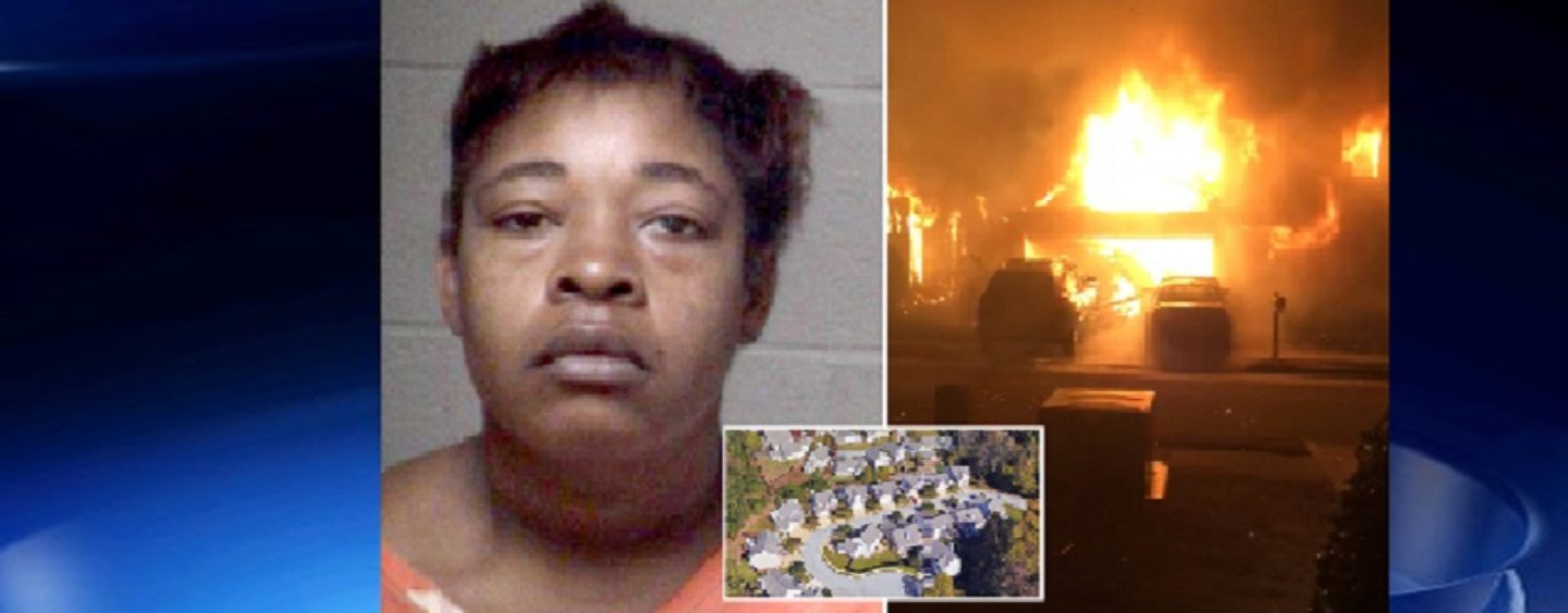 BT-900 Burns Down Her House & Half Of The Neighborhood After Loosing It To Her Husband In The Divorce! (Video)