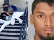 Former Astros Player Ends His Career After Being Caught On Video Beating His Girlfriend Down A Flight Of Stairs! (Video)