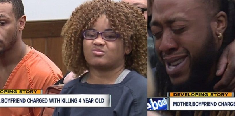 BT-1100 & Her ED-209 Boyfriend Starve & Beat Her 4 Year Old Daughter To Death! (Video)