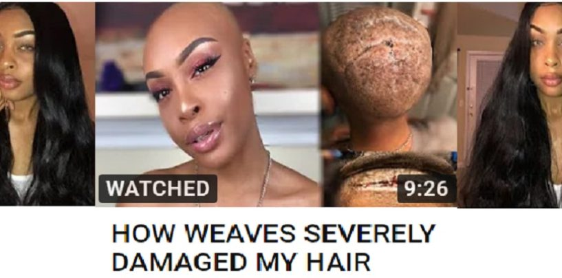 Nubian Systa Explains How Wearing Weaves Destroyed Her Hair & Scalp! (Live Reaction) 4 PM EST