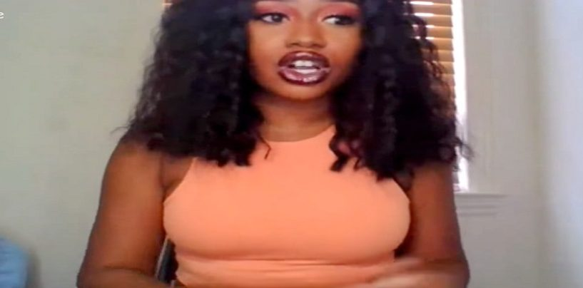 ProBlack Weave Wearer With European Stage Name Says No Blacks Should Support Tommy Sotomayor! (Live Broadcast)