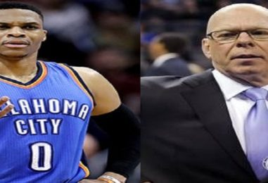 NBA Announcer Suspended For Saying Russell Westbrook Is Out of His Cotton Picking Mind! Was This Offensive? (Video)