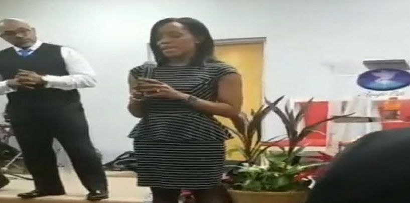 Woman Confronts Her Mom In Church About Moms Boyfriend Raping Her When She Was Just 8! (Live Broadcast)