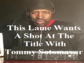 Another Lame A$$ Black YouTuber Named BattleWho, Is Trying To Get Fame Off Tommy Sotomayors Name! (Live Broadcast)