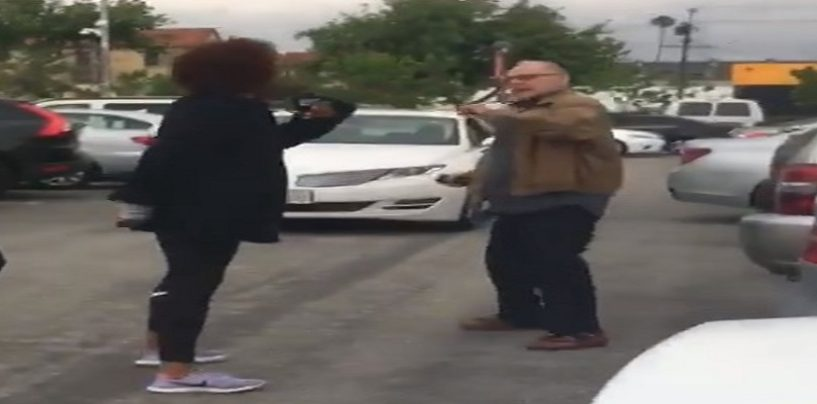 SwirlingGoesWrong Suspected SugarBaby & Her SnowDaddy GhettoGag It Out In Parking Lot!