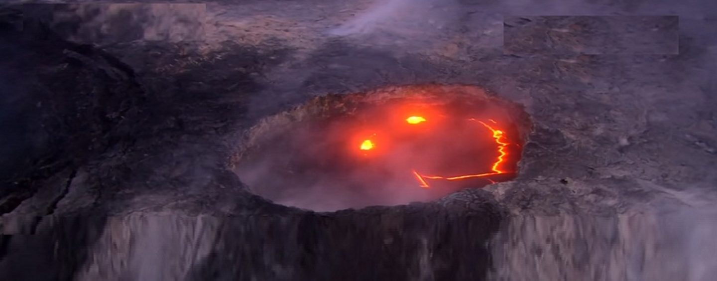 Hawaii Volcano Kilauea Smiles Before It Erupts After Hundreds Of Earth