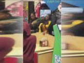 Another Group Of Black Women Brawl Again At Chuck E Cheese In Amherst NY Finally Arrest Were Made! (Video)