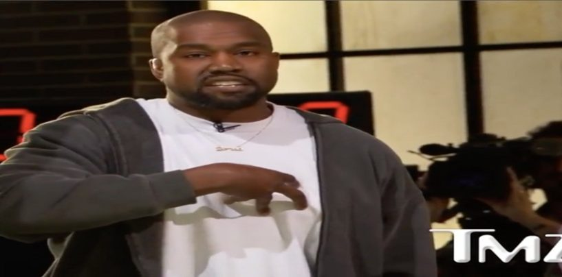 Kanye West Pulls From Tommy Sotomayor & Says Slavery Was A Choice! (Live Broadcoast)