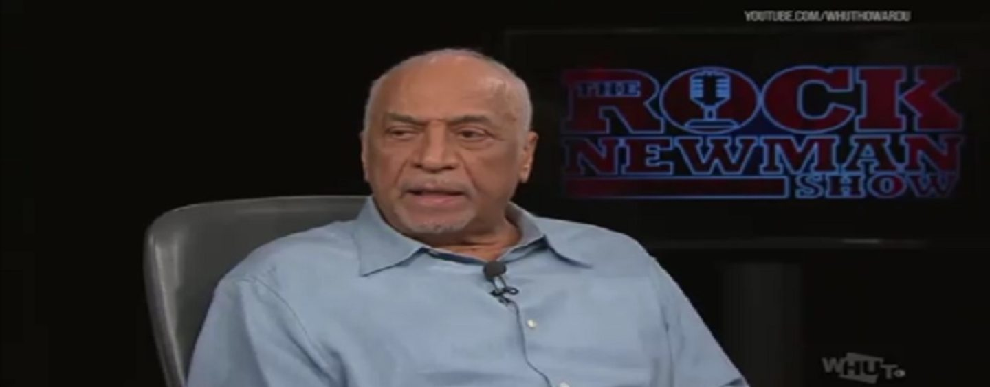 Dr Claude Anderson Tells Rock Newman That Blacks Are Weak & Chose Slavery Over Freedom! (Video)